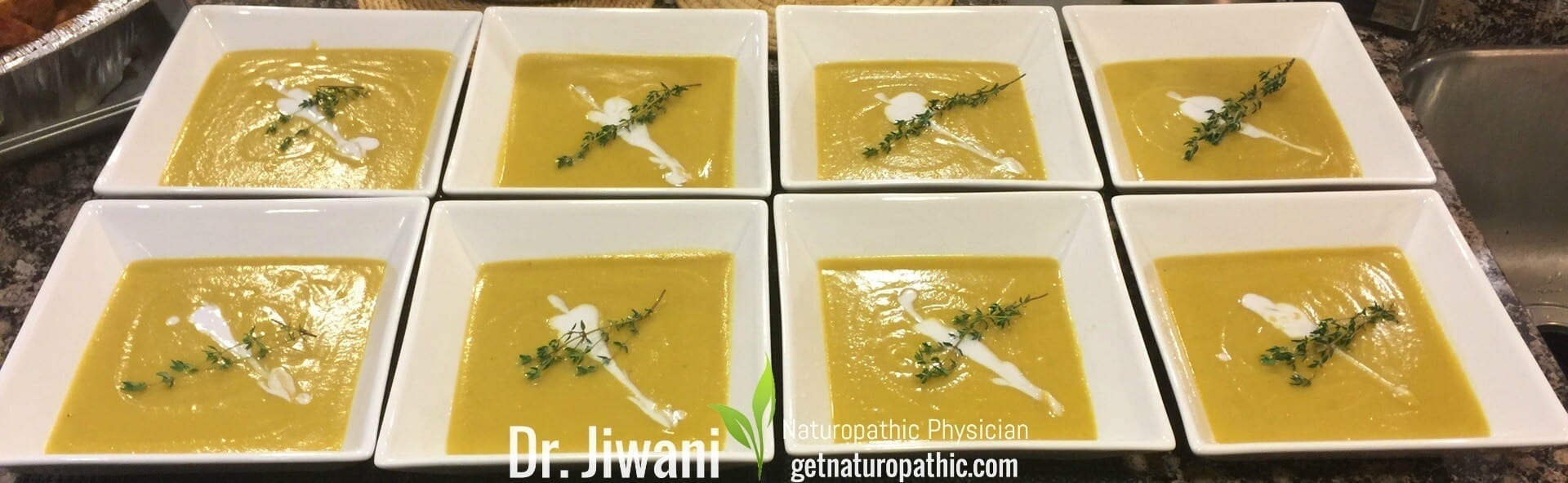Dr. Jiwani's Butternut Squash Soup is Flavourful, Low Carb, Gluten-Free, Egg-Free, Dairy-Free, Soy-Free, Corn-Free, Ideal For Paleo, Keto, Vegan & Allergy-Free Diets | Dr. Jiwani's Naturopathic Nuggets