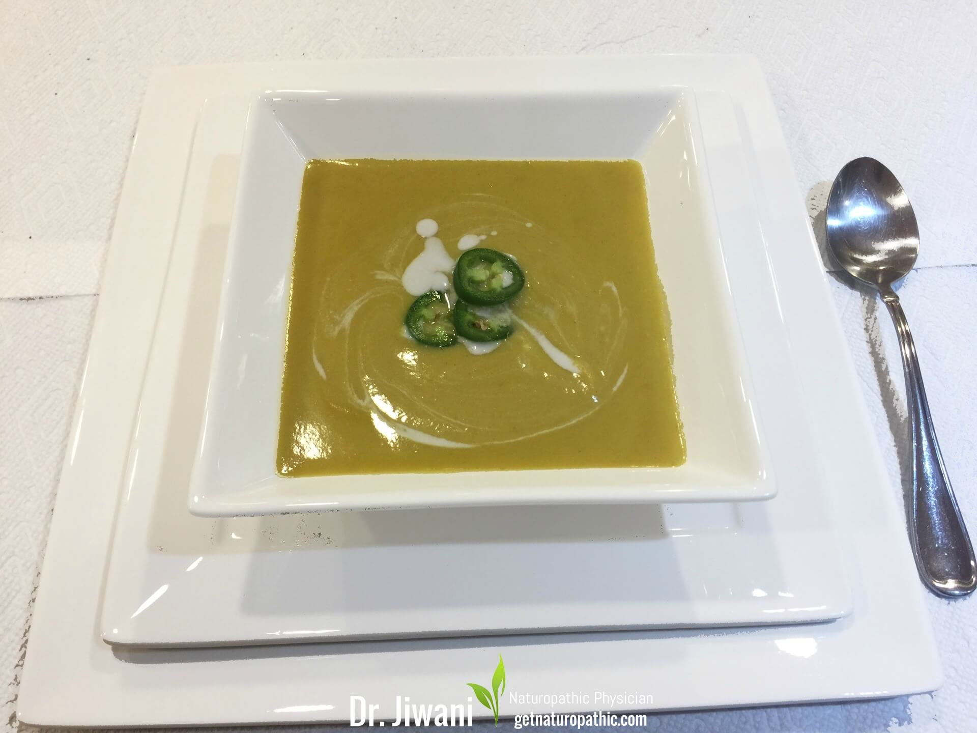 Dr. Jiwani's Butternut Squash Soup is Flavourful, Low Carb, Gluten-Free, Egg-Free, Dairy-Free, Soy-Free, Corn-Free, Ideal For Paleo, Keto, Vegan & Allergy-Free Diets   Dr. Jiwani's Naturopathic Nuggets
