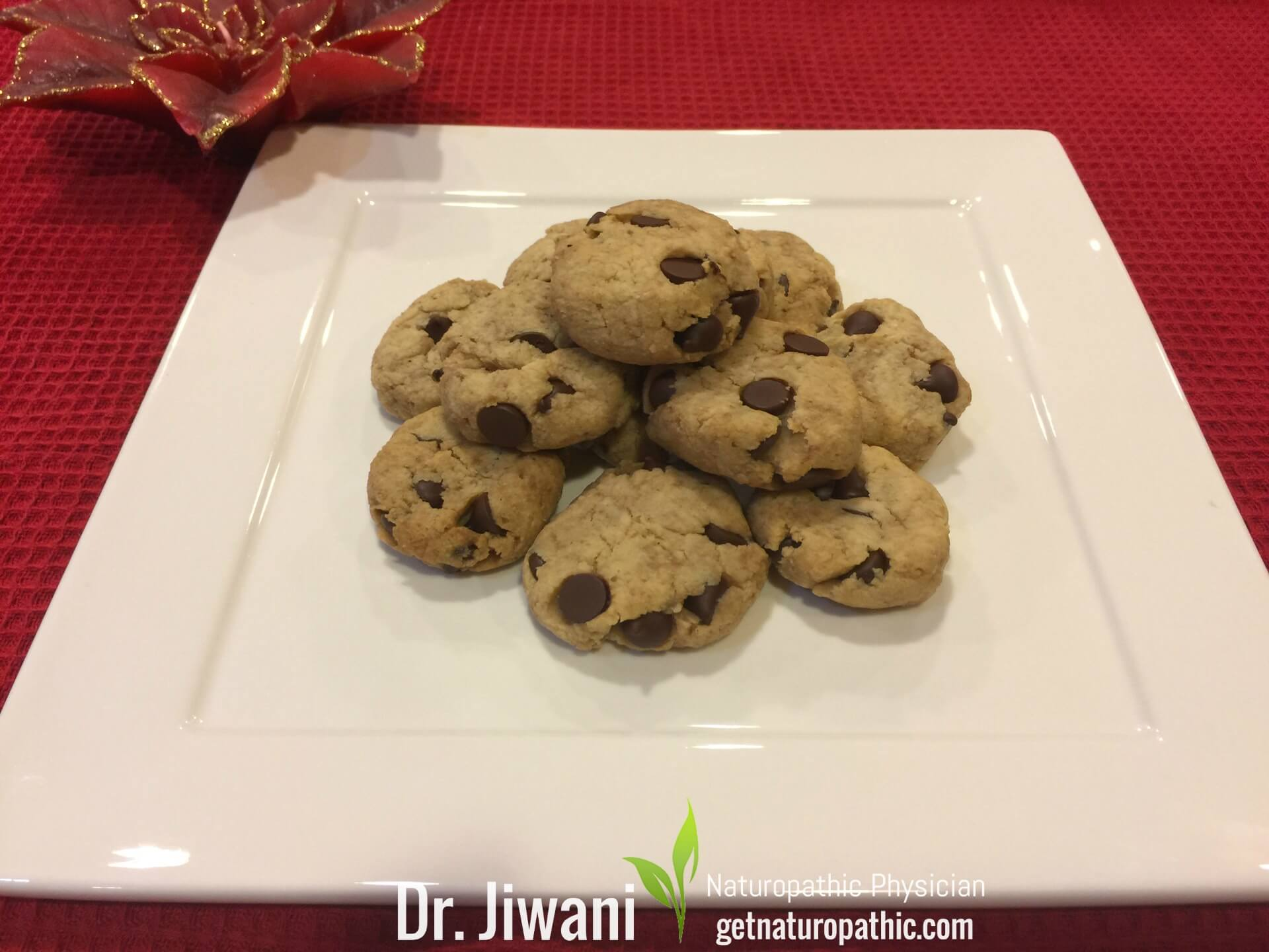 Dr. Jiwani's Guilt-Free Chocolate Chip Cookies: Low Carb, Gluten-Free, Egg-Free, Dairy-Free, Soy-Free, Corn-Free, Ideal For Vegan, Paleo, Keto, Diabetic & Candida Diets | Dr. Jiwani's Naturopathic Nuggets Blog