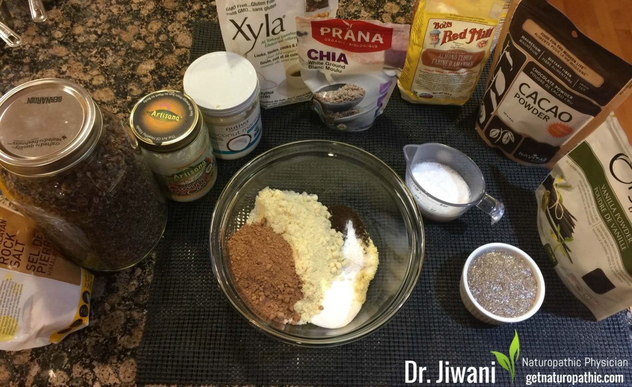 Dr. Jiwani's Fudge Brownies are Decadent yet Low Carb, Gluten-Free, Egg-Free, Dairy-Free, Soy-Free, Corn-Free & for Paleo, Keto, Vegan & Grain-Free Diets | Dr. Jiwani's Naturopathic Nuggets Blog